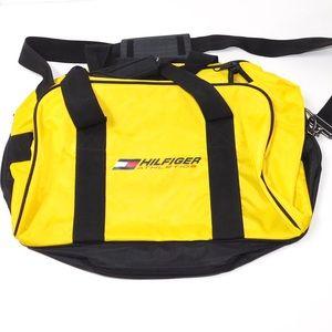 90's Vintage Tommy Hilfiger Duffle Travel Gym Bag